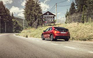 Test de consum cu Honda Civic 1.6 diesel: doar 2.9 litri pe ruta București-Sinaia-București