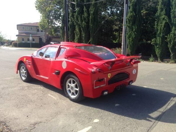 Cea mai urâtă copie de Ferrari din lume este de vânzare pentru 5.500 de dolari - Poza 6