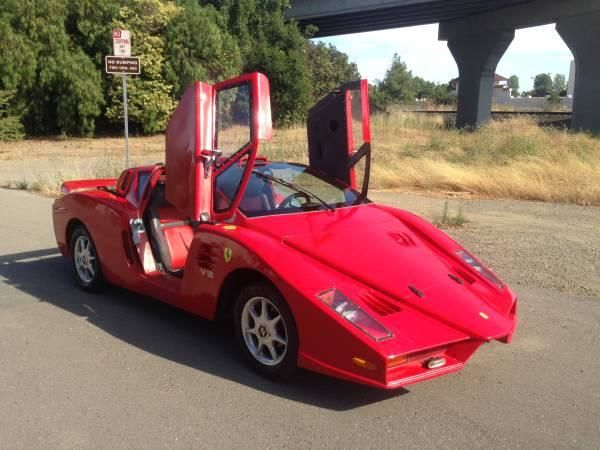 Cea mai urâtă copie de Ferrari din lume este de vânzare pentru 5.500 de dolari - Poza 3