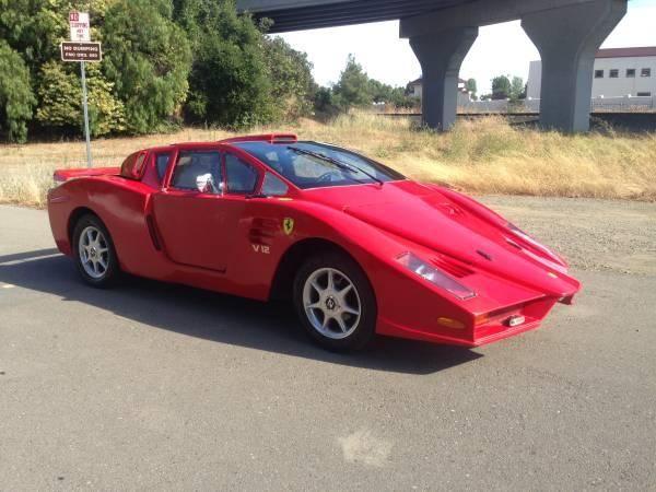 Cea mai urâtă copie de Ferrari din lume este de vânzare pentru 5.500 de dolari - Poza 4