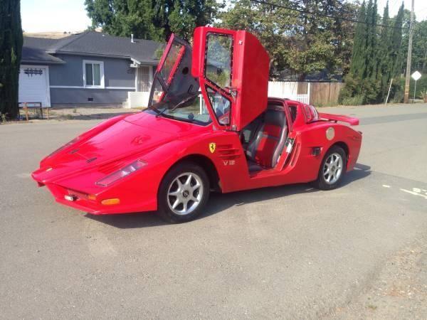 Cea mai urâtă copie de Ferrari din lume este de vânzare pentru 5.500 de dolari - Poza 2