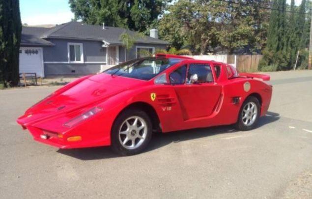 Cea mai urâtă copie de Ferrari din lume este de vânzare pentru 5.500 de dolari - Poza 1
