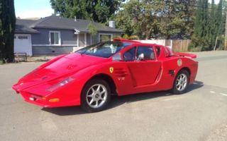 Cea mai urâtă copie de Ferrari din lume este de vânzare pentru 5.500 de dolari