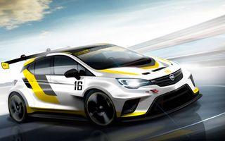 Opel pregătește o variantă de competiție a noii generații Astra
