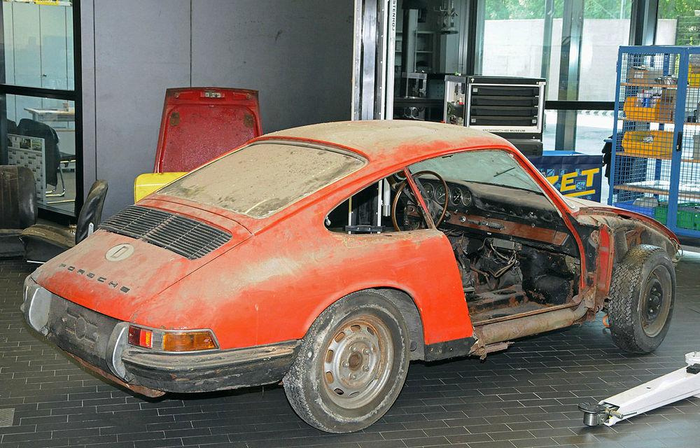 """Porsche va restaura un exemplar """"rătăcit"""" al lui 901, predecesorului lui 911 - Poza 2"""