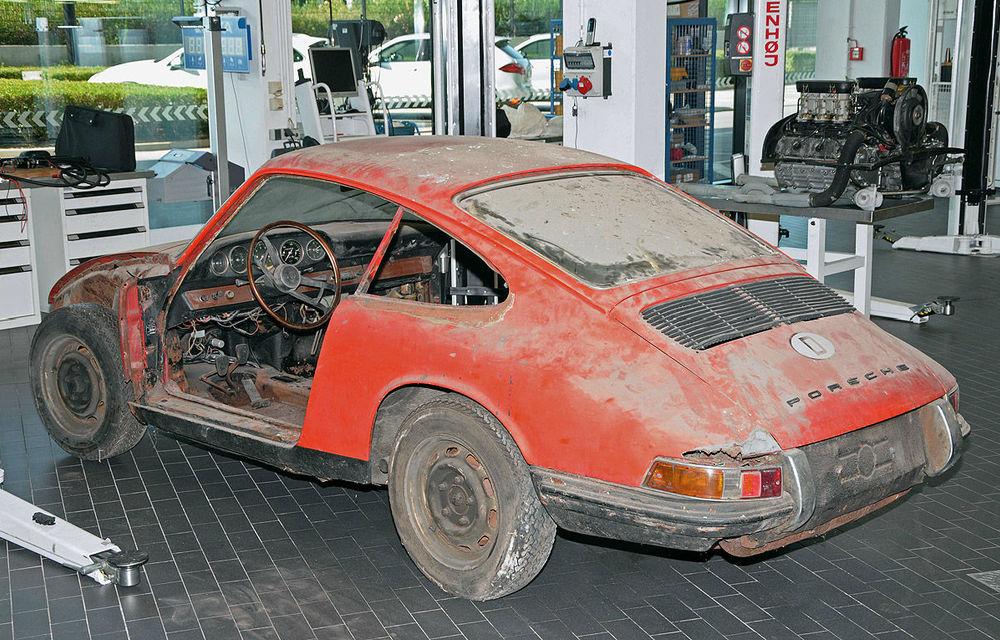 """Porsche va restaura un exemplar """"rătăcit"""" al lui 901, predecesorului lui 911 - Poza 1"""