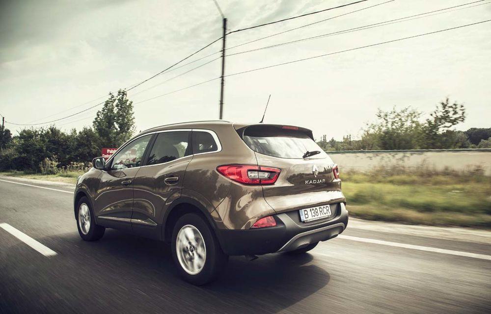 Test de consum cu Renault Kadjar 1.6 diesel: o nouă luptă cu consumul declarat - Poza 5