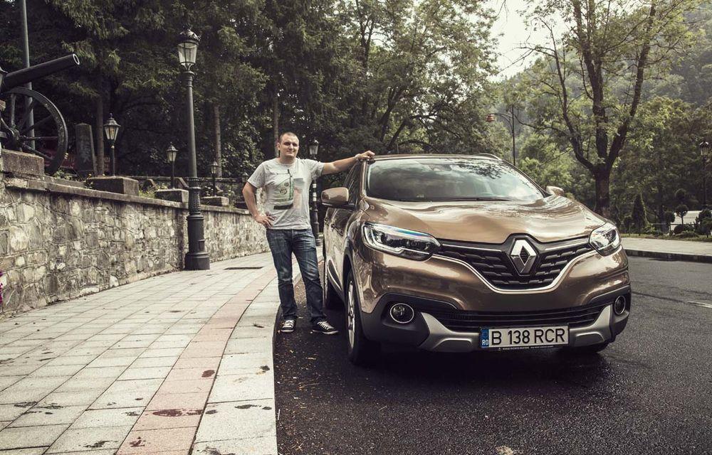 Test de consum cu Renault Kadjar 1.6 diesel: o nouă luptă cu consumul declarat - Poza 11