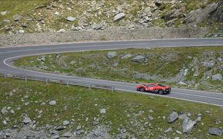 Un italian stabilește primul record de viteză pe Transfăgărășan la volanul unui Ferrari 458 Italia