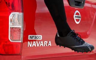 Nissan Navara primește o nouă generație în toamnă: iată prima imagine a posteriorului