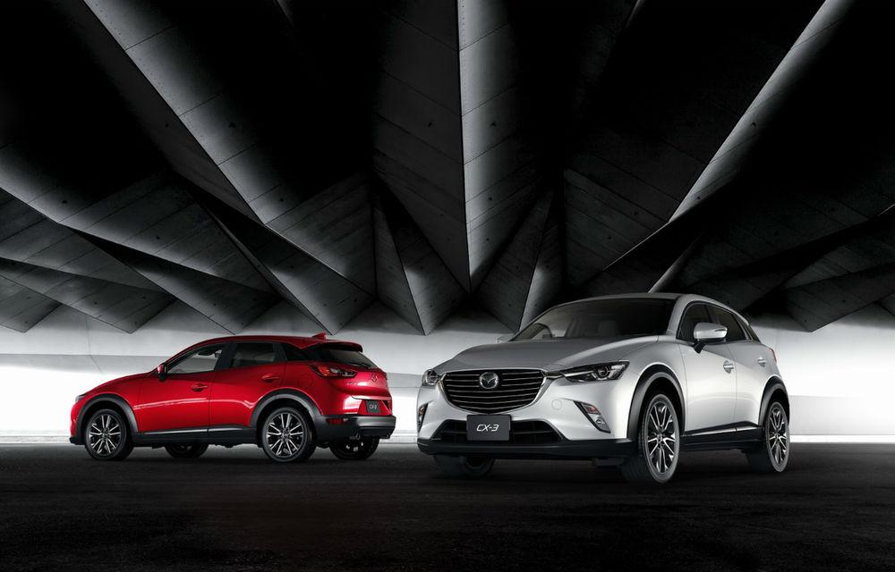"""Mazda: """"Ne temem că nu vom putea livra suficiente unități CX-3"""" - Poza 1"""
