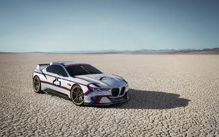 BMW 3.0 CSL Hommage Concept, un nou exponat cu tentă retro al mărcii germane