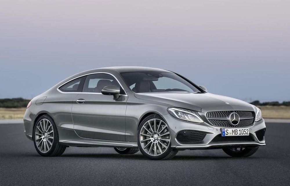 Mercedes C-Klasse Coupe: imagini și detalii oficiale cu cel mai nou membru al familiei din Stuttgart - Poza 1