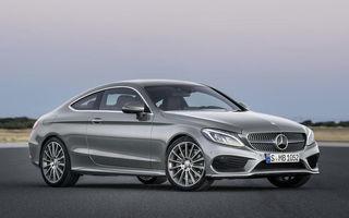 Mercedes C-Klasse Coupe: imagini și detalii oficiale cu cel mai nou membru al familiei din Stuttgart
