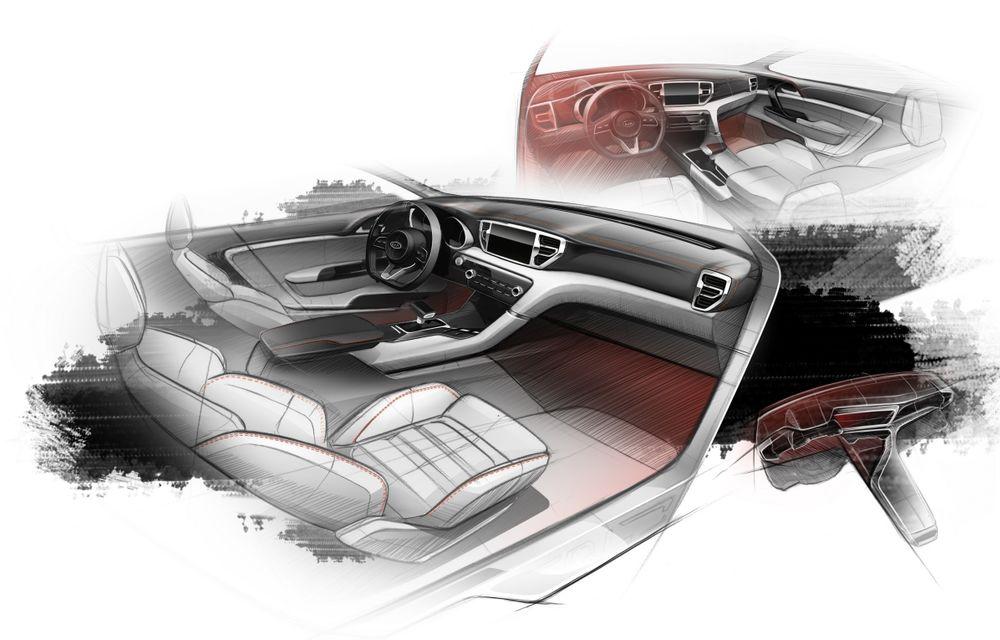 Kia Sportage primește o nouă generație în toamnă: iată primele schițe ale noului model - Poza 3