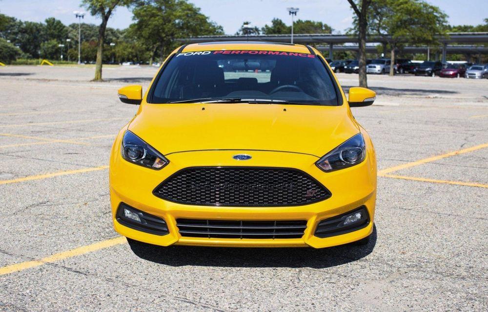 Ford Focus ST primește 25 CP în plus în SUA printr-un pachet oferit cu sprijinul constructorului - Poza 1