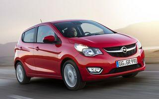 Opel Karl ecoFLEX: motor de 75 CP și consum de 4.1 litri la sută