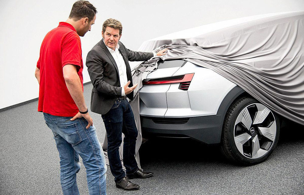 Audi e-tron Quattro Concept: noi imagini ale viitorului Q6, primul SUV 100% electric - Poza 1