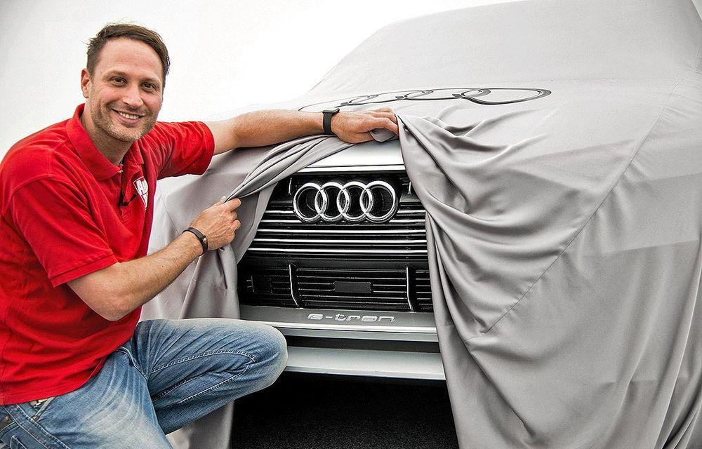 Audi e-tron Quattro Concept: noi imagini ale viitorului Q6, primul SUV 100% electric - Poza 2