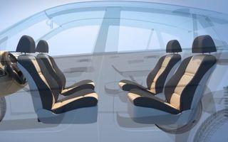 Ford a patentat o mașină autonomă care transformă interiorul în birou mobil în timpul mersului