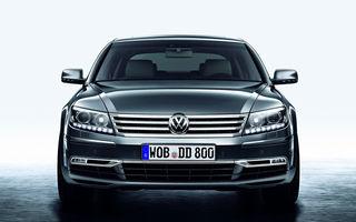 Volkswagen amână lansarea următoarei generații Phaeton