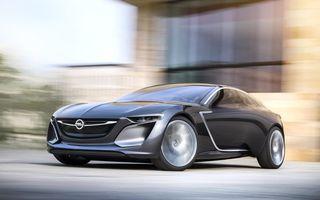Opel Insignia primește în 2017 un succesor cu design inspirat de conceptul Monza