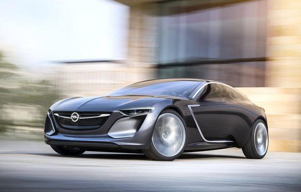 Opel Insignia primește în 2017 un succesor cu design inspirat de conceptul Monza - Poza 1