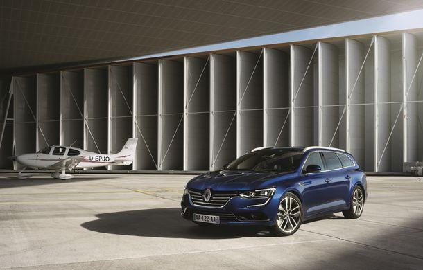 Renault Talisman Estate: primele imagini și informații oficiale - Poza 12