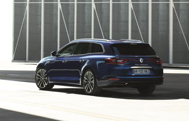 Renault Talisman Estate: primele imagini și informații oficiale - Poza 1