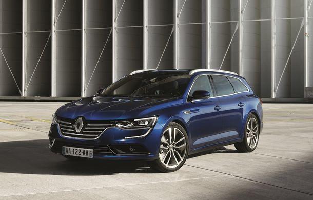 Renault Talisman Estate: primele imagini și informații oficiale - Poza 2