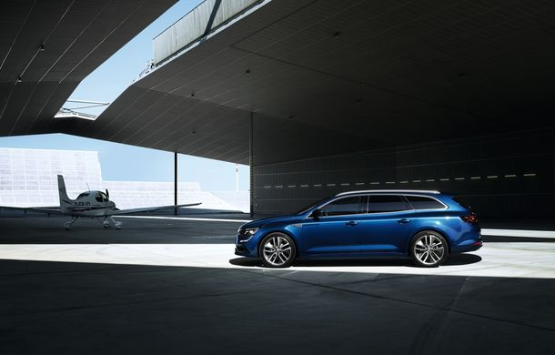 Renault Talisman Estate: primele imagini și informații oficiale - Poza 4