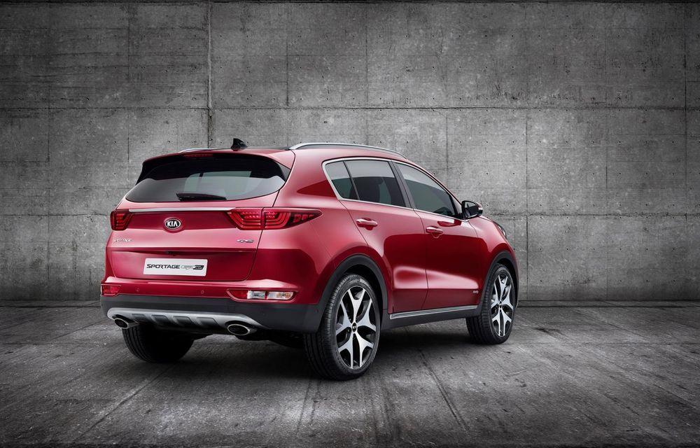 Kia Sportage: fotografii oficiale cu a patra generație a crossover-ului - Poza 3
