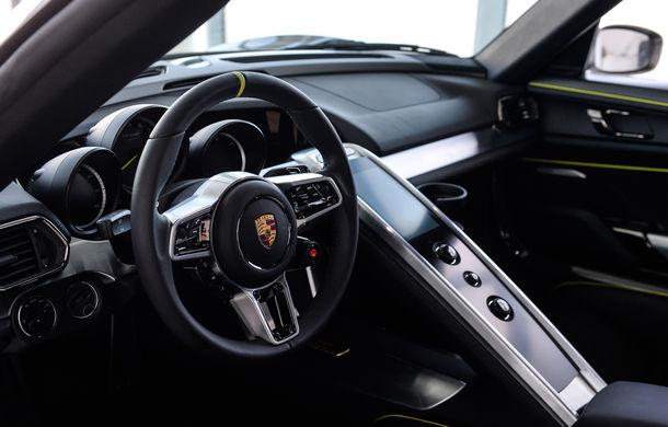 Galeria Țiriac Collection s-a îmbogățit cu un nou exponat: Porsche 918 Spyder - Poza 35