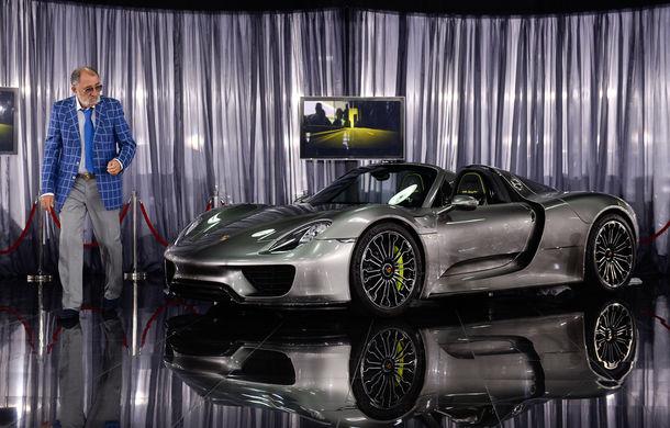 Galeria Țiriac Collection s-a îmbogățit cu un nou exponat: Porsche 918 Spyder - Poza 5