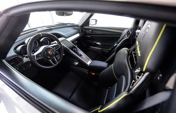 Galeria Țiriac Collection s-a îmbogățit cu un nou exponat: Porsche 918 Spyder - Poza 26