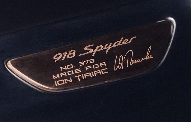 Galeria Țiriac Collection s-a îmbogățit cu un nou exponat: Porsche 918 Spyder - Poza 20