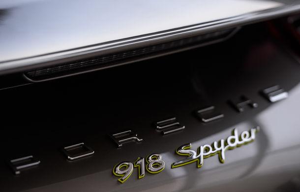 Galeria Țiriac Collection s-a îmbogățit cu un nou exponat: Porsche 918 Spyder - Poza 34