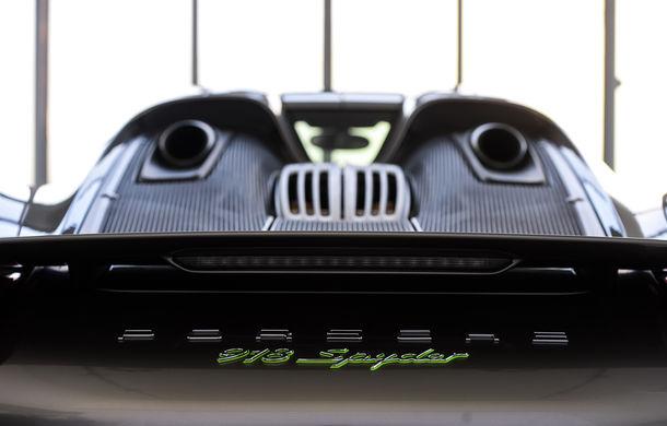 Galeria Țiriac Collection s-a îmbogățit cu un nou exponat: Porsche 918 Spyder - Poza 22