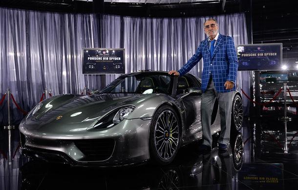Galeria Țiriac Collection s-a îmbogățit cu un nou exponat: Porsche 918 Spyder - Poza 1