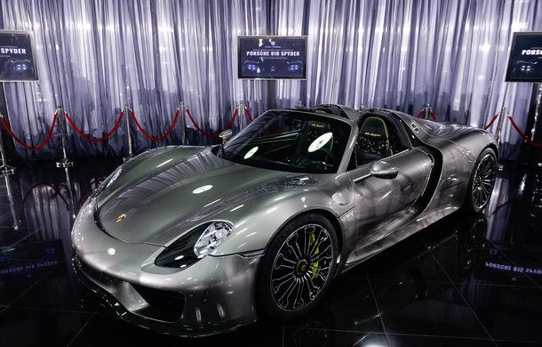 Galeria Țiriac Collection s-a îmbogățit cu un nou exponat: Porsche 918 Spyder - Poza 12