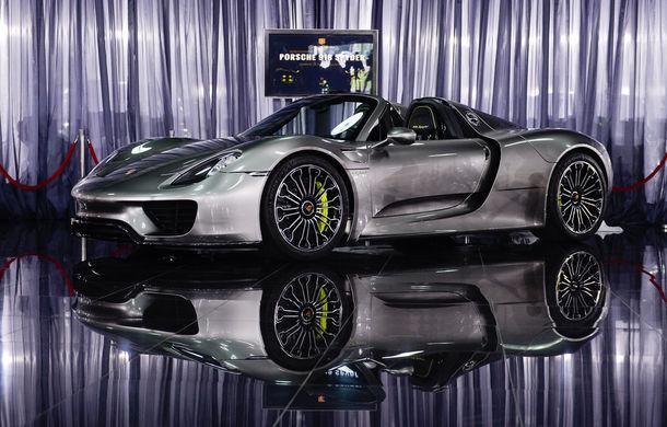 Galeria Țiriac Collection s-a îmbogățit cu un nou exponat: Porsche 918 Spyder - Poza 7