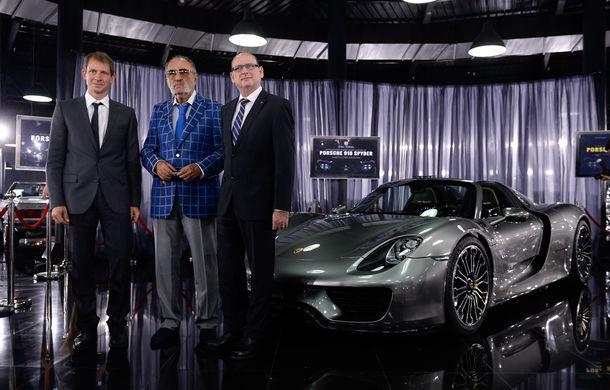 Galeria Țiriac Collection s-a îmbogățit cu un nou exponat: Porsche 918 Spyder - Poza 9