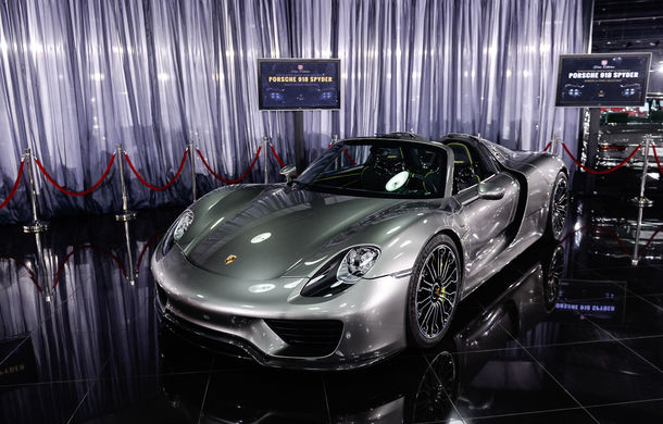 Galeria Țiriac Collection s-a îmbogățit cu un nou exponat: Porsche 918 Spyder - Poza 8
