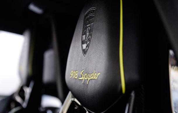 Galeria Țiriac Collection s-a îmbogățit cu un nou exponat: Porsche 918 Spyder - Poza 27
