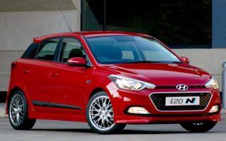 Hyundai i20 N Sport: primele imagini și informații ale variantei sportive a subcompactei