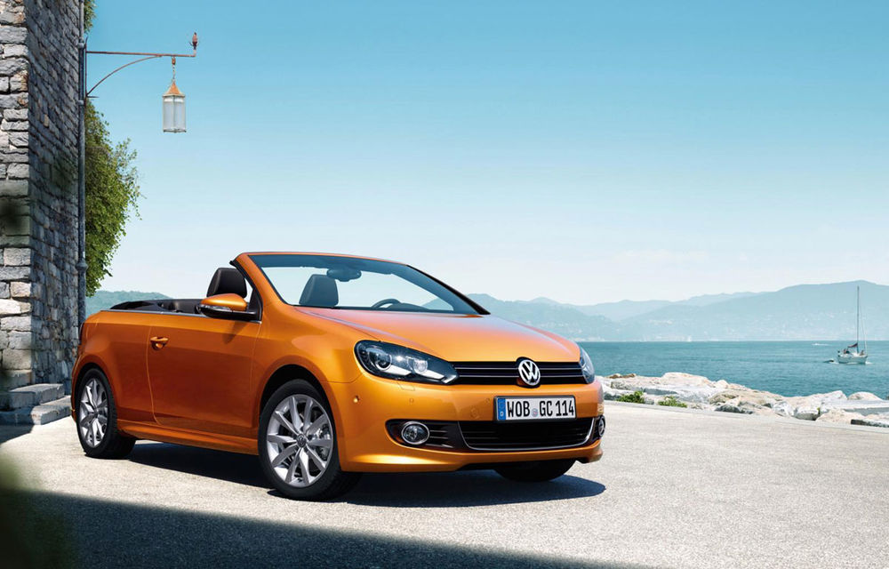 Volkswagen Golf Cabriolet primește un design proaspăt și motoare Euro 6 - Poza 1