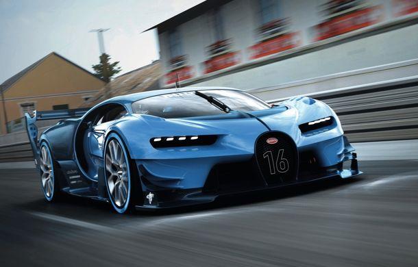 Bugatti Vision Gran Turismo, conceptul care ne arată design-ul urmașului lui Veyron (ACTUALIZARE) - Poza 1