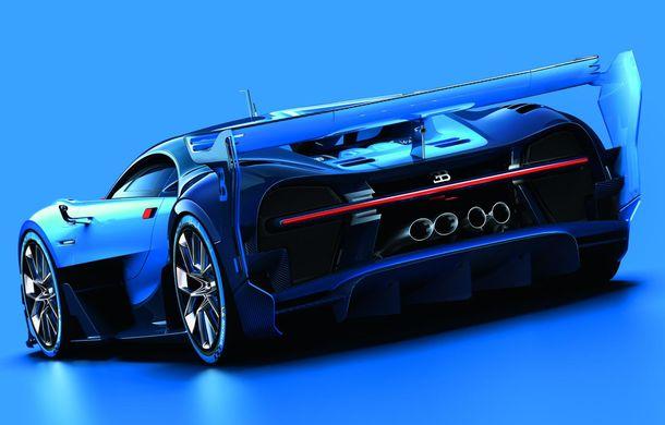 Bugatti Vision Gran Turismo, conceptul care ne arată design-ul urmașului lui Veyron (ACTUALIZARE) - Poza 2