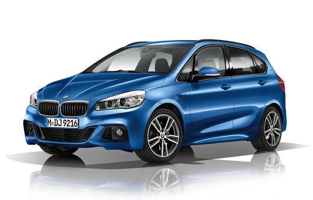 BMW 225xe Active Tourer este primul monovolum plug-in hybrid produs de marca bavareză - Poza 1