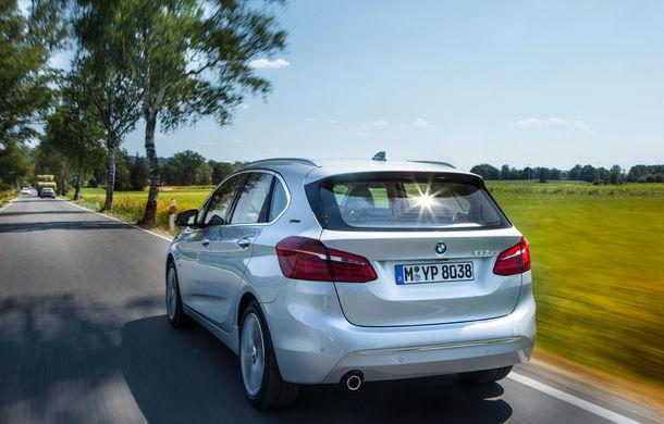 BMW 225xe Active Tourer este primul monovolum plug-in hybrid produs de marca bavareză - Poza 15